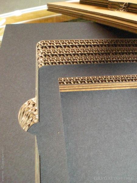 cartone ondulato scatola personalizzata Gio'Gatto