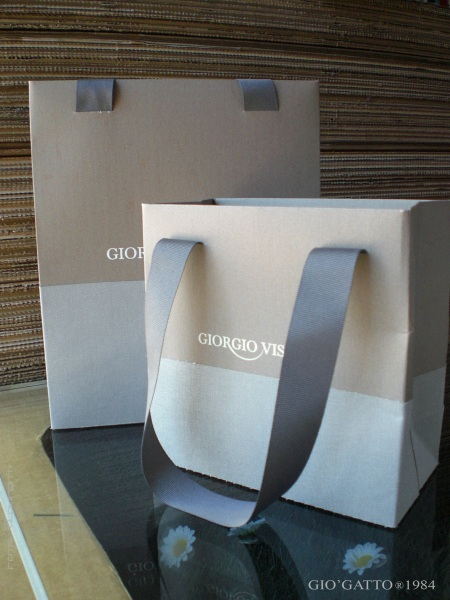 shopping bag carta personalizzate by Gio'Gatto